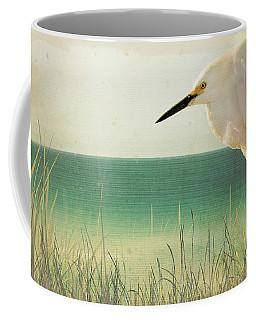 Egret In Morning Light Coffee Mug