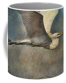 Egret Journey Coffee Mug