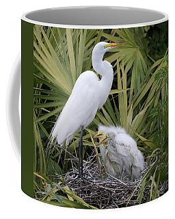 Egret Nest Coffee Mug