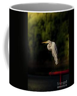 Lonesome Egret - Morning Coffee Mug