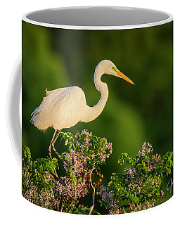 Egret Overlook Coffee Mug