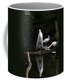 Egret Reflection Coffee Mug