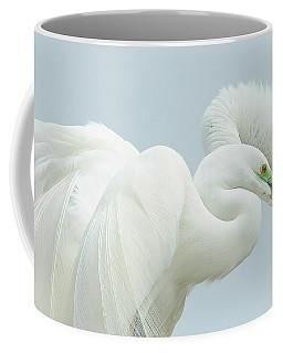 Egrets In Love 2 Coffee Mug