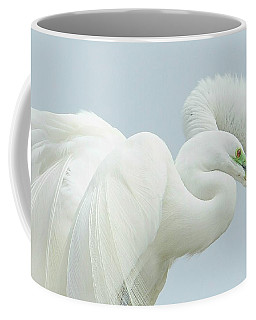Egrets In Love 2 Coffee Mug