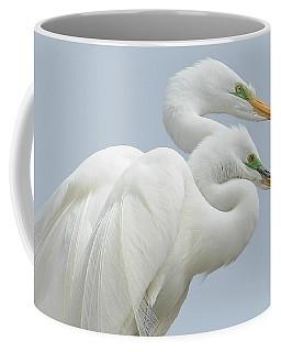 Egrets In Love Coffee Mug