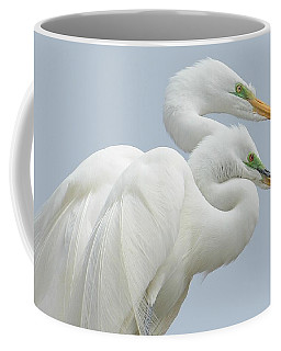 Egrets In Love Coffee Mug