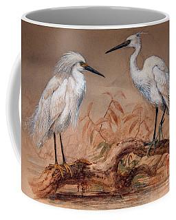 Egrets Coffee Mug