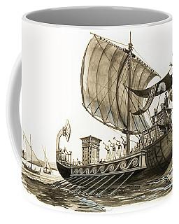 Egyptian Galley Coffee Mug