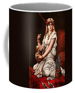 Egyptian Lady With Harp Coffee Mug
