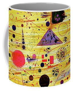 Coffee Mug featuring the painting Egyptian Sunrise by Michael Lucarelli