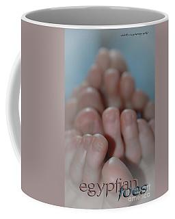 Egyptian Toes Coffee Mug