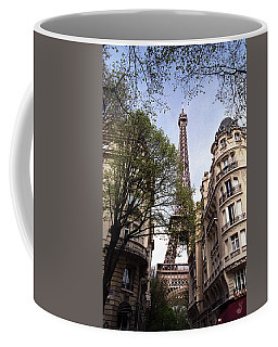 Coffee Mug featuring the photograph Eiffel Tower 2b by Andrew Fare