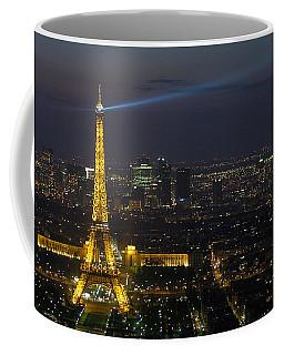 Eiffel Tower At Night Coffee Mug