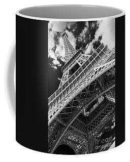 Eiffel Tower Infrared Abstract Coffee Mug