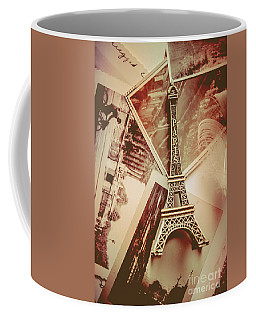Eiffel Tower Old Romantic Stories In Ancient Paris Coffee Mug