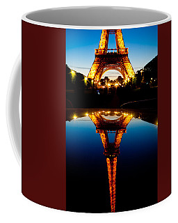 Eiffel Tower Reflection Coffee Mug