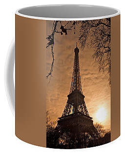 Eiffel Tower Sunset Coffee Mug