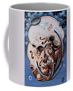 Einstein's Violin. Op.2763 Coffee Mug