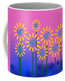Ek Onkar Flowers Coffee Mug