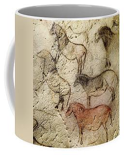 Ekain Cave Horses Coffee Mug