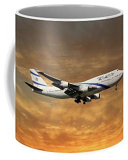 El Al Israel Airlines Boeing 747-458 2 Coffee Mug