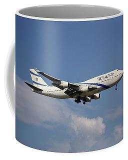 El Al Israel Airlines Boeing 747-458 4 Coffee Mug