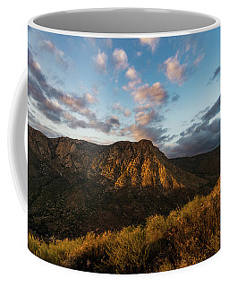 El Cajon Mountain Last Light Coffee Mug