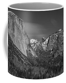 El Capitan And Half Dome Coffee Mug
