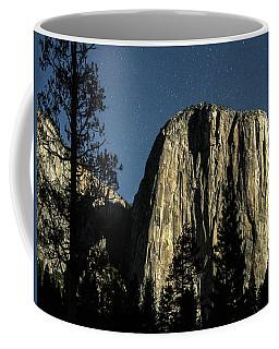 El Capitan By Starlight, Yosemite Valley, Yosemite Np, Ca Coffee Mug
