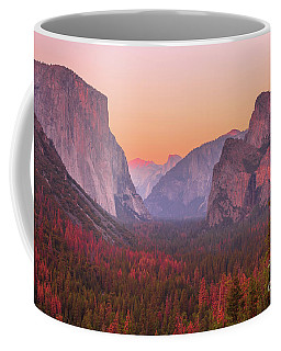 El Capitan Golden Hour Coffee Mug