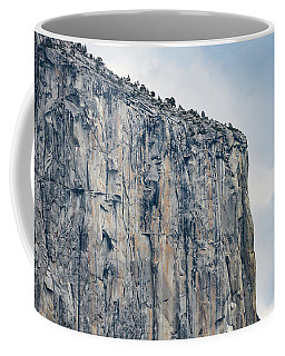 El Capitan Up Close And Personal From Tunnel View Yosemite Np Coffee Mug