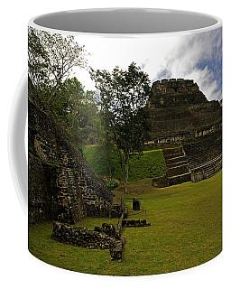 El Castillo Pyramid At Xunantunich Coffee Mug