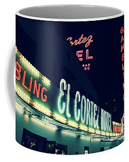 El Cortez Hotel At Night Coffee Mug