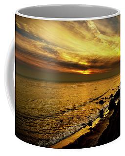 El Matador Beach Sunset Coffee Mug