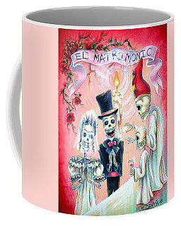 El Matrimonio Coffee Mug by Heather Calderon