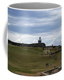 Coffee Mug featuring the photograph El Morro by Lois Lepisto
