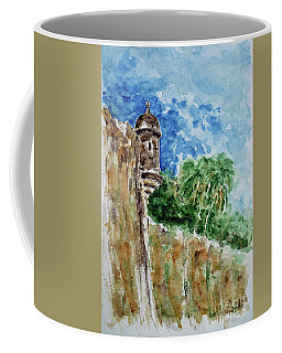 El Morro Coffee Mug by Zaira Dzhaubaeva