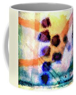 Coffee Mug featuring the painting El Paso Del Tiempo by Dominic Piperata