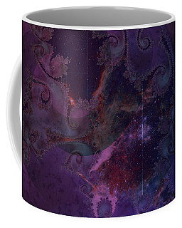 Coffee Mug featuring the digital art El Sendero Luminoso by Kenneth Armand Johnson
