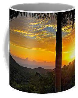 El Yunque Mountain Sunrise Coffee Mug