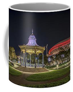 Coffee Mug featuring the photograph Elder Park Elegance by Ray Warren