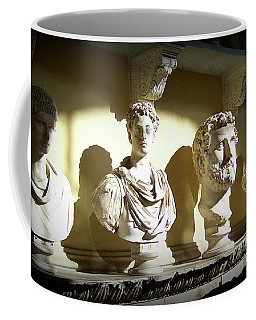 Elder Statesmen Coffee Mug by Susan Lafleur