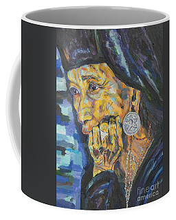 Elder Wisdom Coffee Mug by Michael Cinnamond