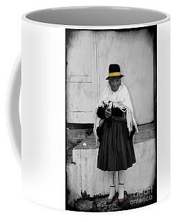 Elderly Beggar In Biblian Coffee Mug