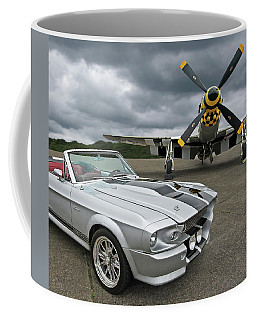 Eleanor Mustang With P51 Coffee Mug