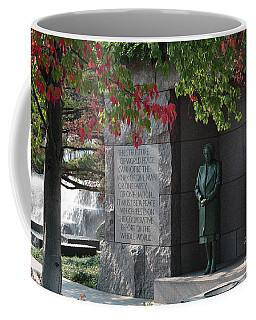 Eleanor's Alcove At The Fdr Memorial In Washington Dc Coffee Mug