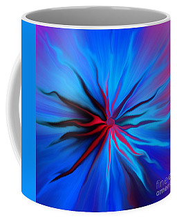 Electric Blue 2 Coffee Mug