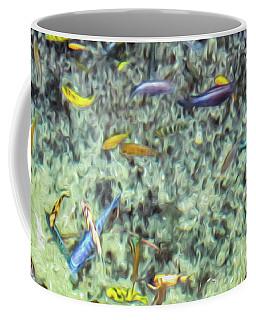 Electric Fish In The Pond Coffee Mug