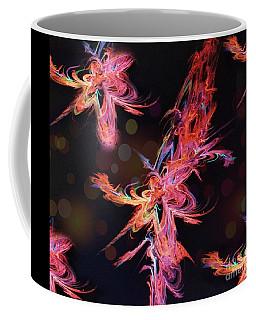 Electric Flowers Coffee Mug