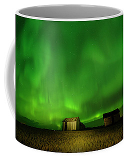 Electric Green Skies Coffee Mug